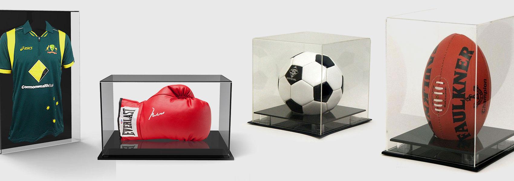 Memorabilia Sports Displays